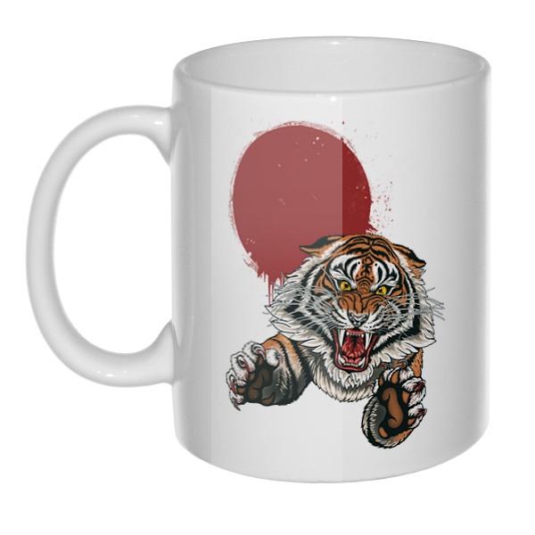 Кружка Свирепый тигр