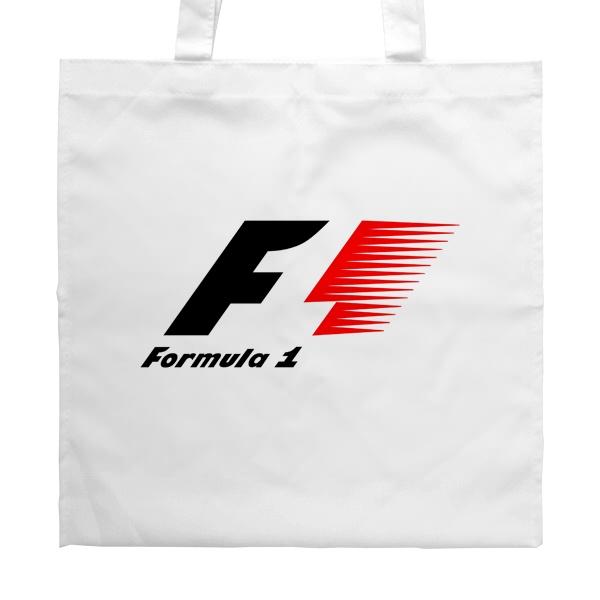 Белая сумка Логотип Формулы-1