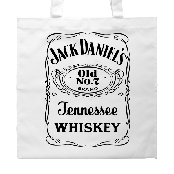 Белая сумка Джек Дэниэлс, цвет белый