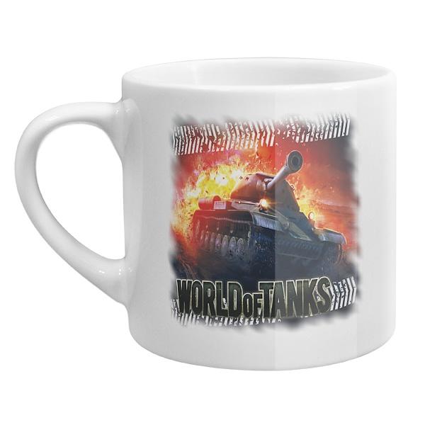 Кофейная чашка Танк в огне