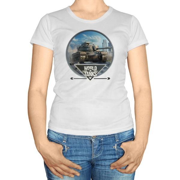 Женская футболка Игра Танки