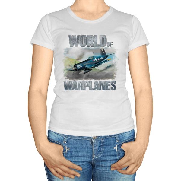 Женская футболка Игра про военные самолеты
