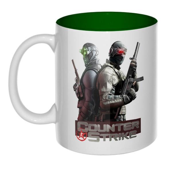 Counter Strike, кружка цветная внутри