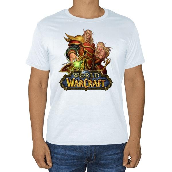 World of Warcraft, белая футболка