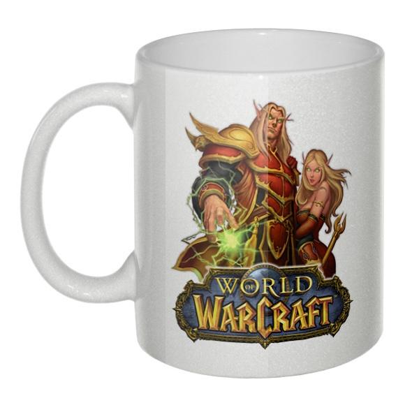Кружка перламутровая World of Warcraft