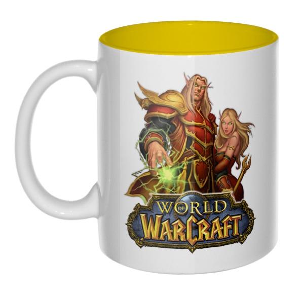 World of Warcraft, кружка цветная внутри