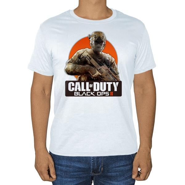 Call of Duty, белая футболка