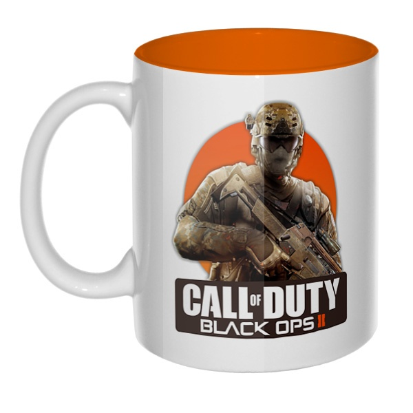 Call of Duty, кружка цветная внутри