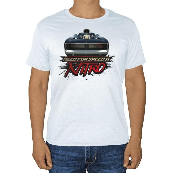 Need For Speed Nitro, белая футболка
