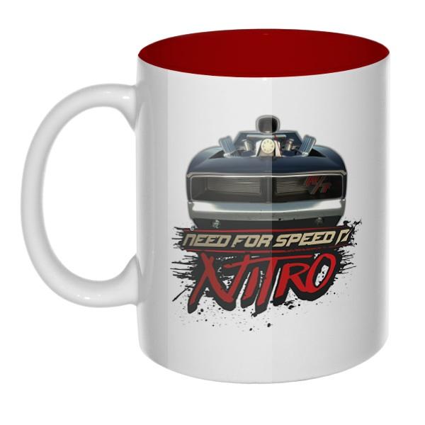 Need For Speed Nitro, кружка цветная внутри