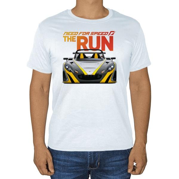 NFS the Run, белая футболка
