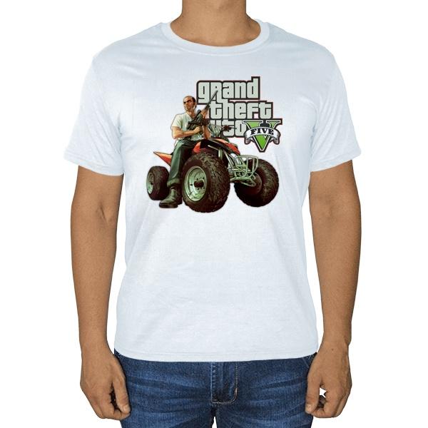 GTA V, белая футболка