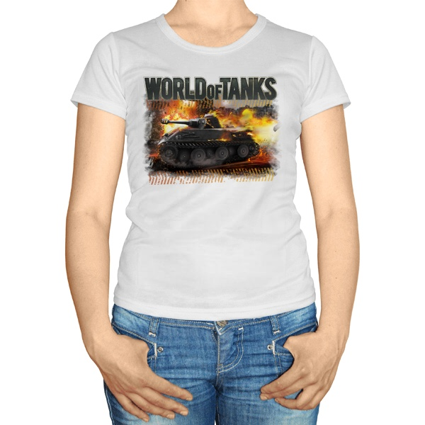 Женская футболка Ворлд оф танкс