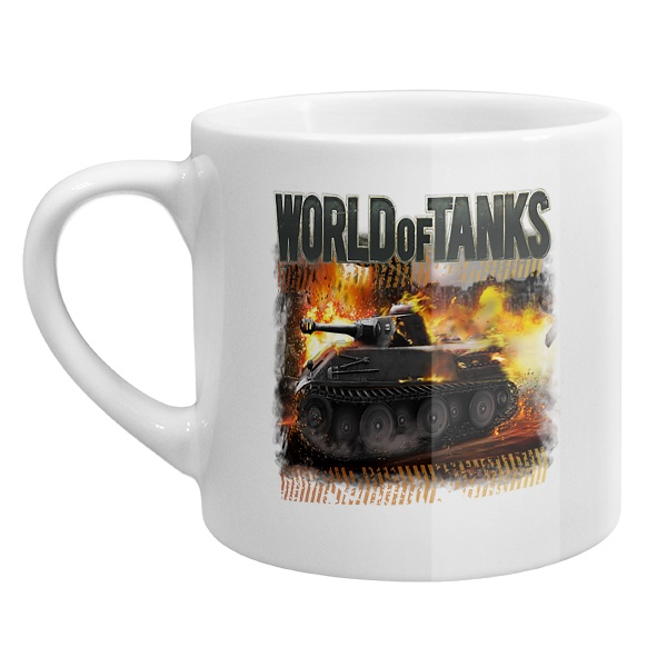 Кофейная чашка Ворлд оф танкс