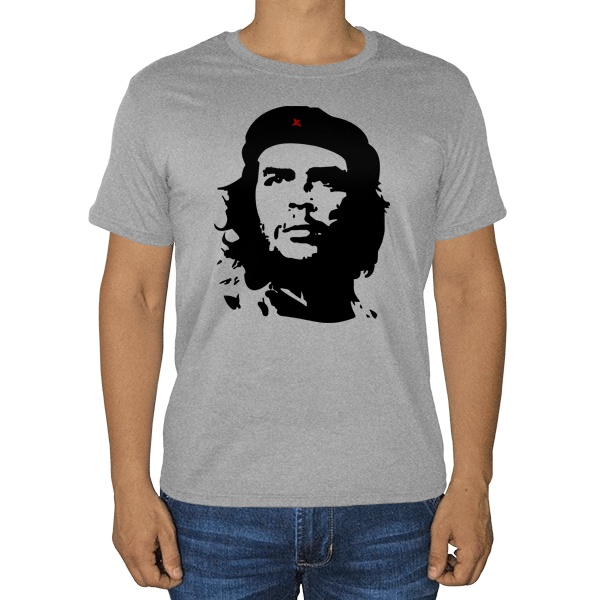 Серая футболка Ernesto Che Guevara (меланж)