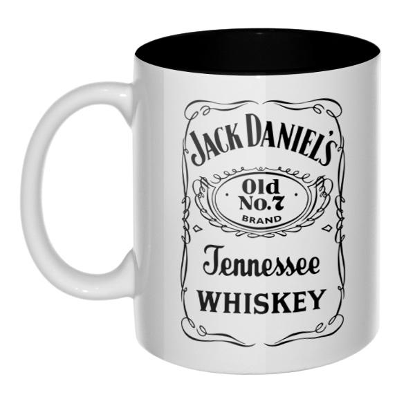 Кружка Jack Daniel's (цветная внутри)