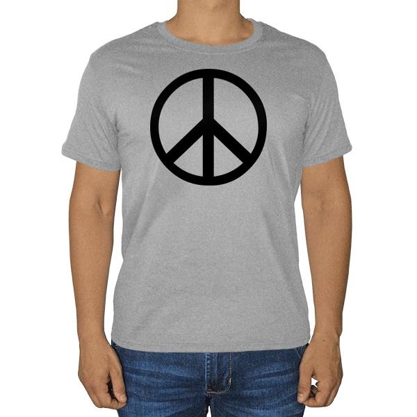 Пацифик, серая футболка (меланж)