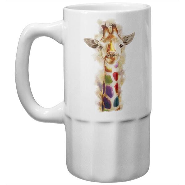 Пивная кружка Жираф