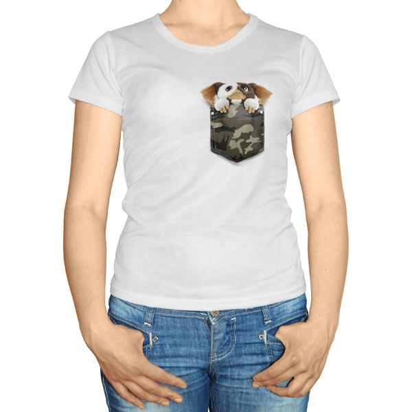Женская футболка Гремлин Гизмо