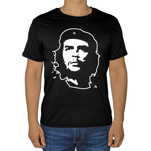 Черная футболка Че Гевара