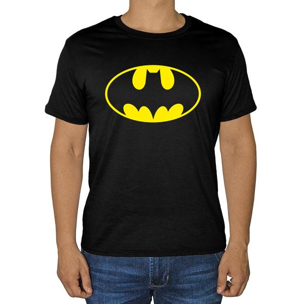 Черная футболка Batman