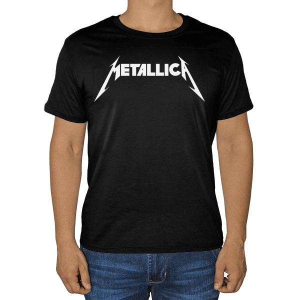 Черная футболка Metallica