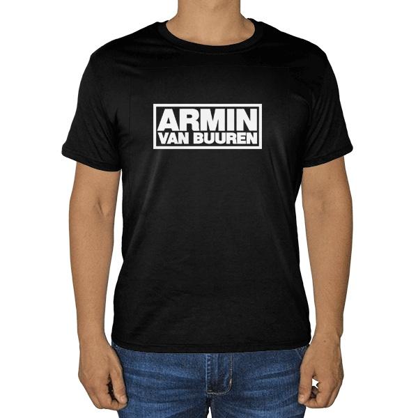 Черная футболка Armin van Buuren