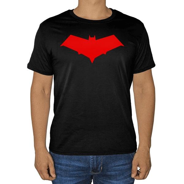 Черная футболка Красный колпак (Red Hood)