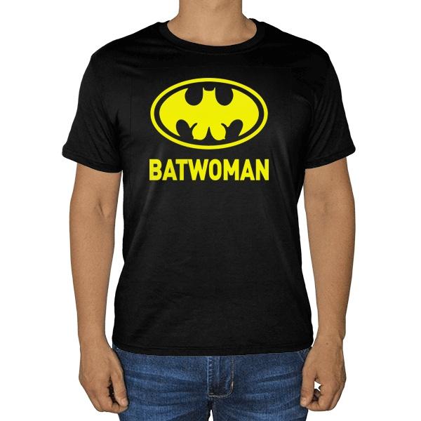 Черная футболка Batwomen