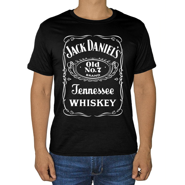 Черная футболка Jack Daniel's