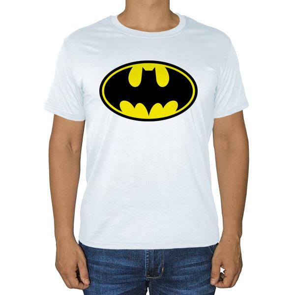 Белая футболка Batman