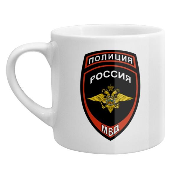 Кофейная чашка Эмблема полиции России
