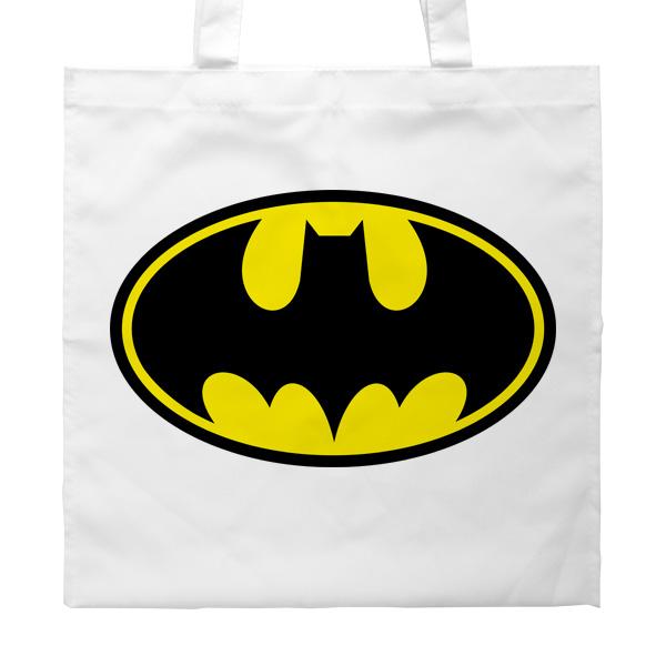 Сумка белая Batman