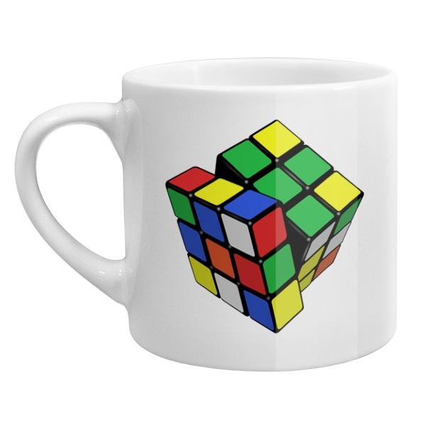 Кофейная чашка Кубик Рубика