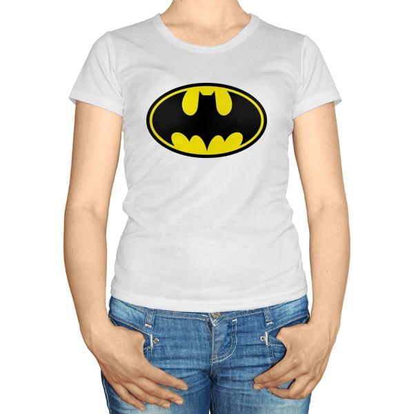 Женская футболка Batman, цвет белый