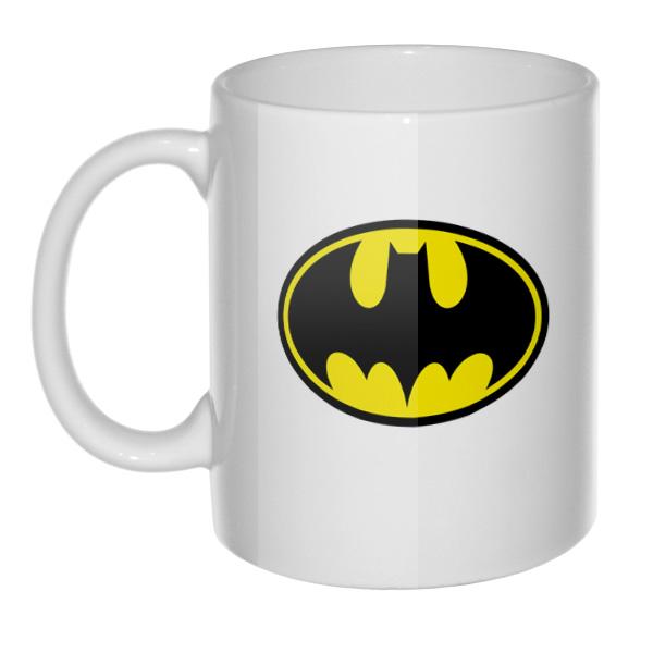 Кружка белая Batman