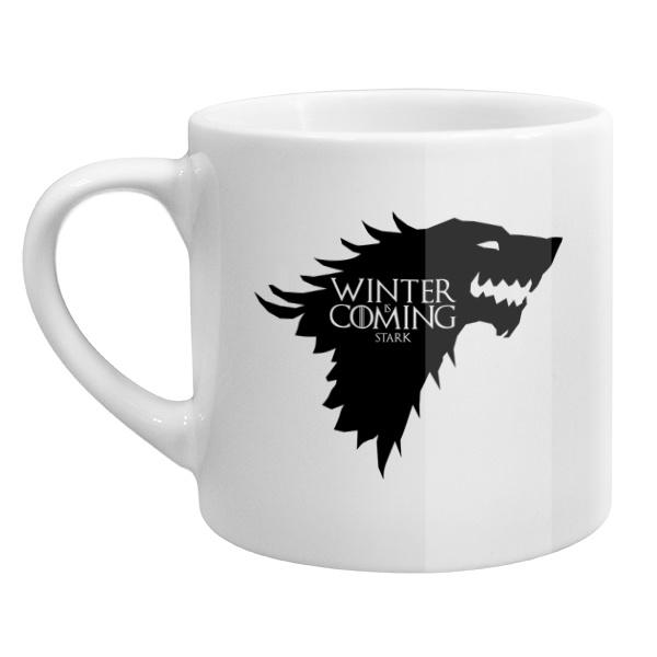 Кофейная чашка Winter is coming