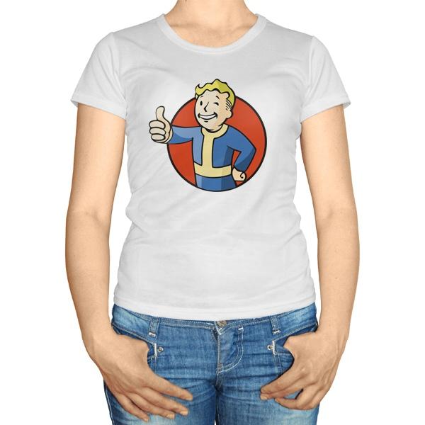 Женская футболка Vault boy