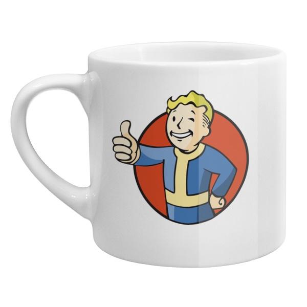 Кофейная чашка Vault boy