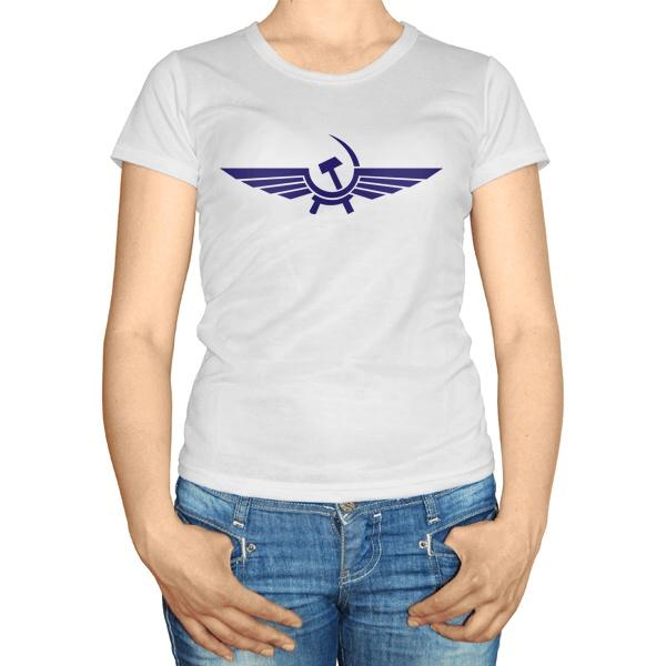 Женская футболка Аэрофлот СССР