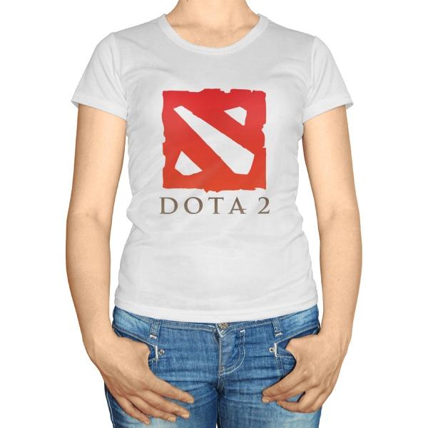 Женская футболка Дота 2