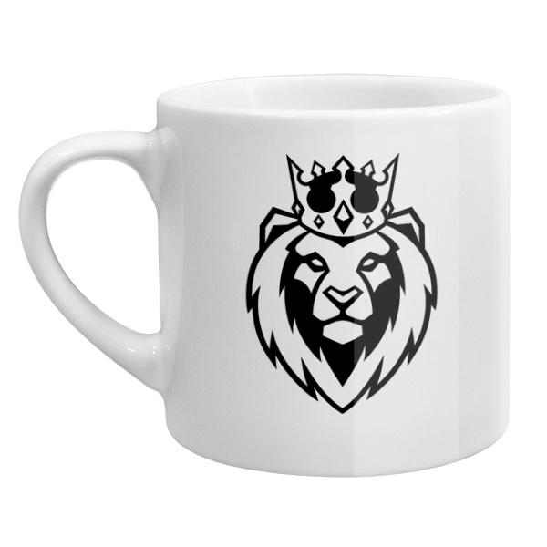 Кофейная чашка Лев в короне