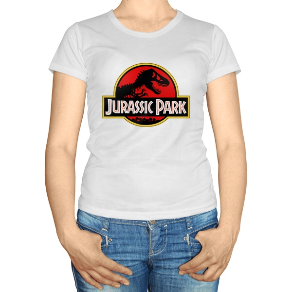 Женская футболка Jurassic Park