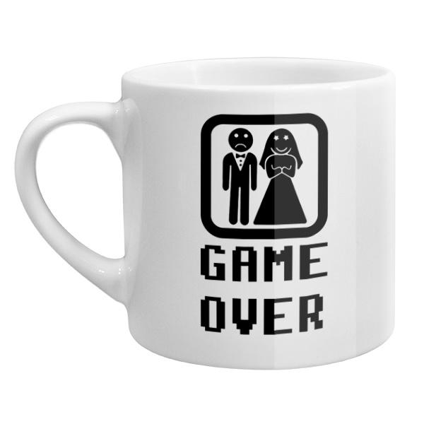 Кофейная чашка Игра окончена