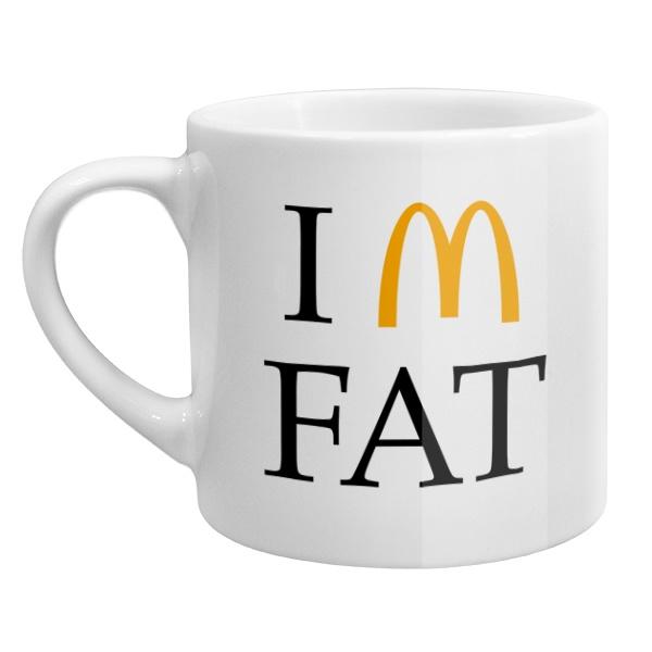 Кофейная чашка I am fat