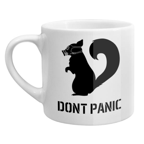 Кофейная чашка Dont Panic