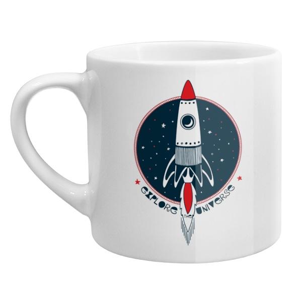 Кофейная чашка Ракета Explore Universe