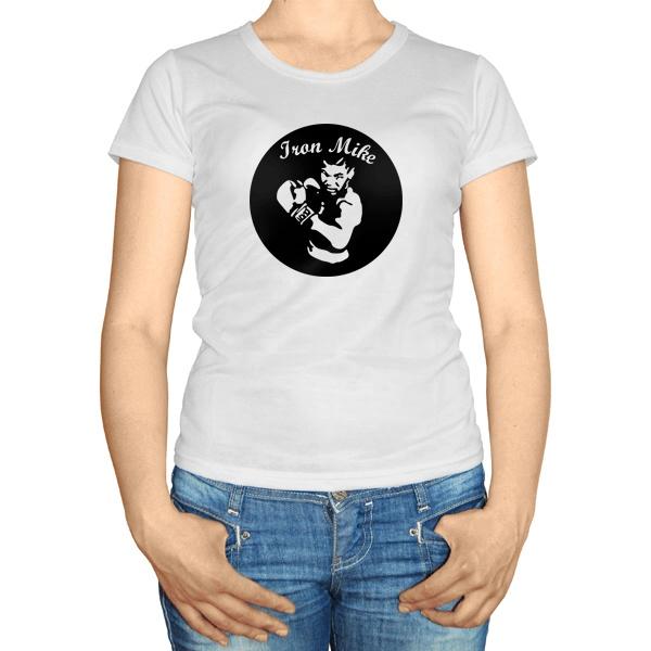 Женская футболка Майк Тайсон