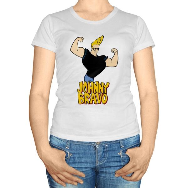 Женская футболка Джонни Браво