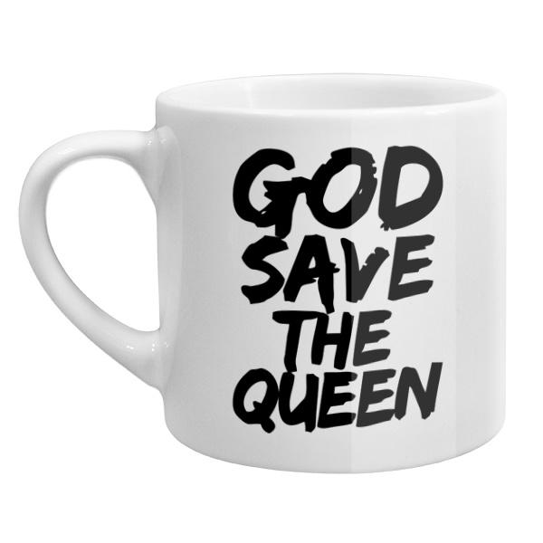 Кофейная чашка God Save the Queen